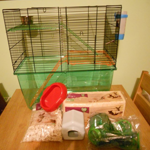 Setting Up A Hamster Cage Pet Warehouse