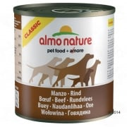 Almo Nature Classic Beef Dog Food 6 x 290g