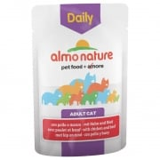 Almo Nature Daily Menu Chicken & Duck Cat Food 6 x 70g
