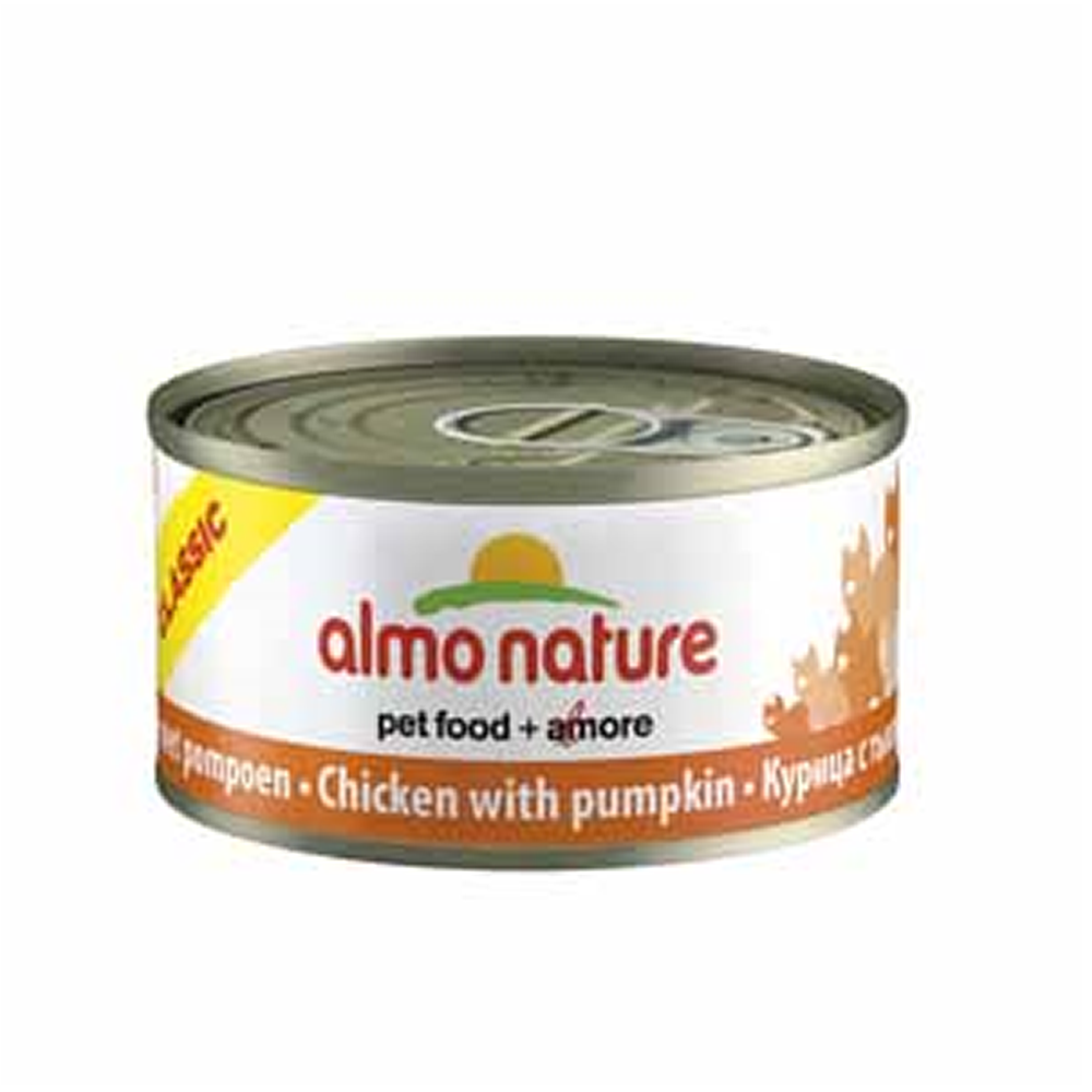 Almo Chicken And Pumpkin Cat Food