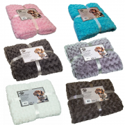 Nobby Super Soft Fleece Plaid Blanket 100 x 150cm