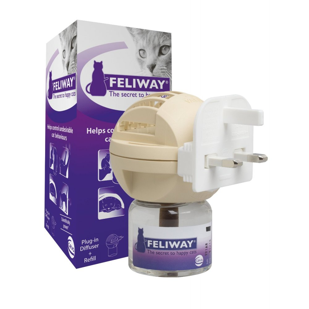Plug In Diffuser : Buy the ceva feliway plug in diffuser refill at pet