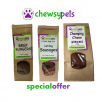 CHEWSY PETS Promo Offer, Chomping Chews,Burgers & Hot Dogs