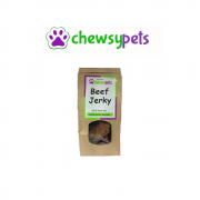 Chewsy Pets Puffed Beef Jerky 100g Dog Treats