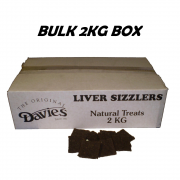 Davies Liver Sizzlers 2kg Natural Treats