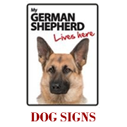 Dog Signs & Calendars
