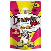 Dreamies Mix 60g-Cheese & Beef Variety