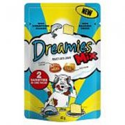 Dreamies Mix 60g-Salmon & Cheese Variety