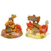 Exotic EnvironmentsTreasure Trove Crabs Aquarium Ornament