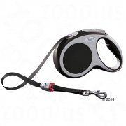 Flexi Vario Retractable Black  Tape Lead All Sizes