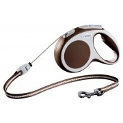 Flexi Vario Retractable Brown Cord Lead All Sizes