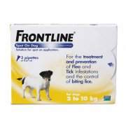Frontline Spot On Flea Treatment 2-10kg 3 Pippetes