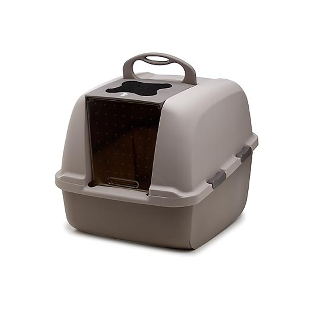 Large Hooded Cat Litter Tray