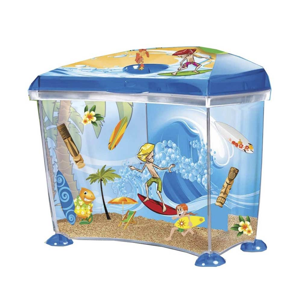 Marina Surfin Aquarium Set 14 Litre Childrens Fish Tanks