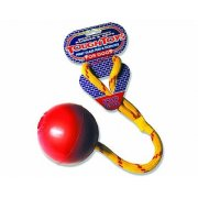 Happy Pet Solid Rubber Ball on Rope Dog Toy