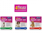 Johnson's 4Fleas Spot-On For Small, Medium & Large Dogs