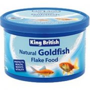 King British Goldfish Flake Food All Sizes