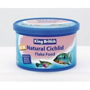 King British Natural Cichlid Flake Food 28g