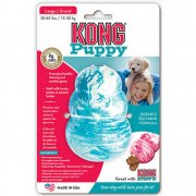 Kong Puppy Chew Toy Large Blue