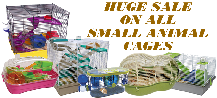 Small animal cage sale