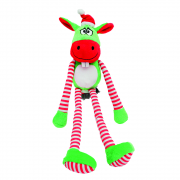 Cupid & Comet Christmas Dog Toy Giggling Donkey