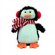 Cupid & Comet Christmas Dog Toy Mini Peter Penguin