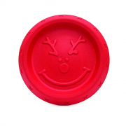 Cupid & Comet Christmas Dog Toy Reindeer Easy Throw Frisbee