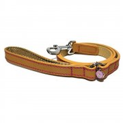 Luxury Leather Dog Leads, 3 colours available