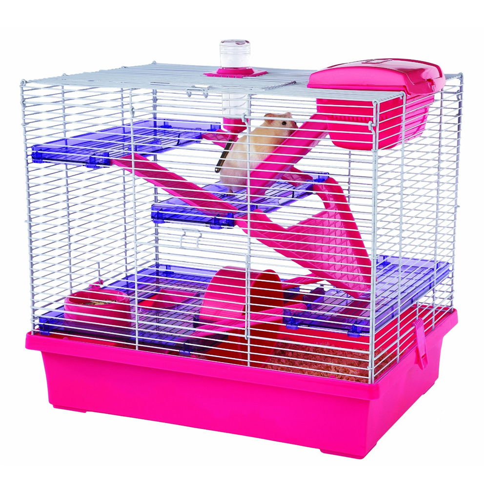 Pico Pink Hamster Cage Extra Large Free Delivery
