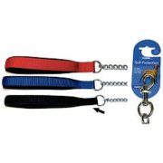 "Rosewood Soft Protection Chain Dog Lead 30""  Black, Red or Navy"