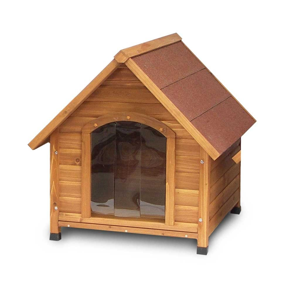 small classic wooden dog kennel With small wooden dog kennel