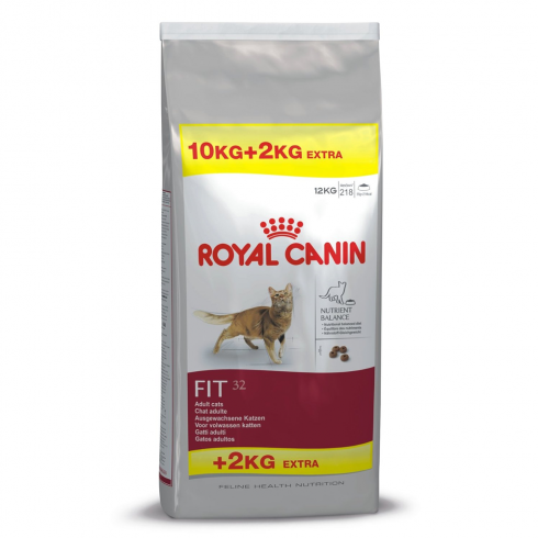 buy royal canin cat fit 32 10kg 2kg free the pet. Black Bedroom Furniture Sets. Home Design Ideas