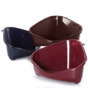 Clean 'N' Tidy Corner Litter Pan Large Classic Colour