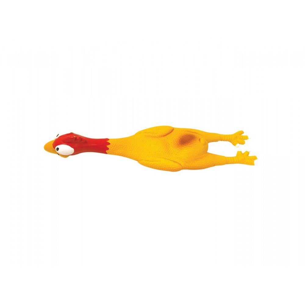 Buy The Latex Squeeky Chicken Dog Toy At The Pet Warehouse Uk
