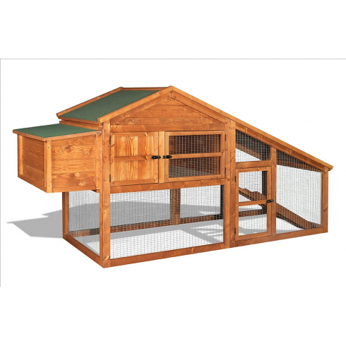 THE HUTCH COMPANY Balmoral Rabbit Hutch and Run