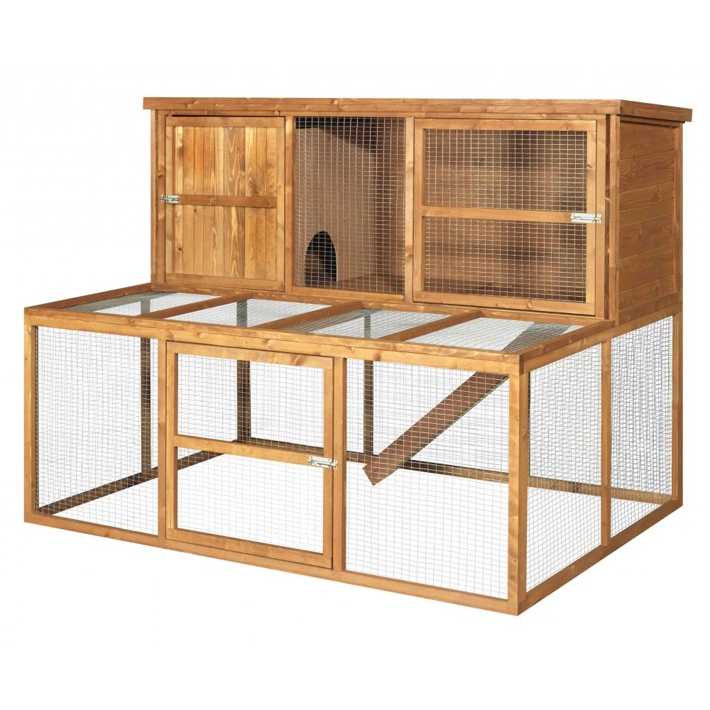 Rabbit hutch and run kendal 180 by the hutch company for What is a rabbit hutch