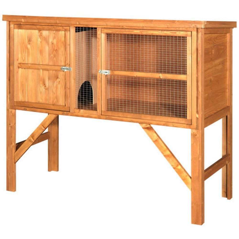 The hutch company dundee 4ft rabbit hutch free uk delivery for 5 foot rabbit hutch