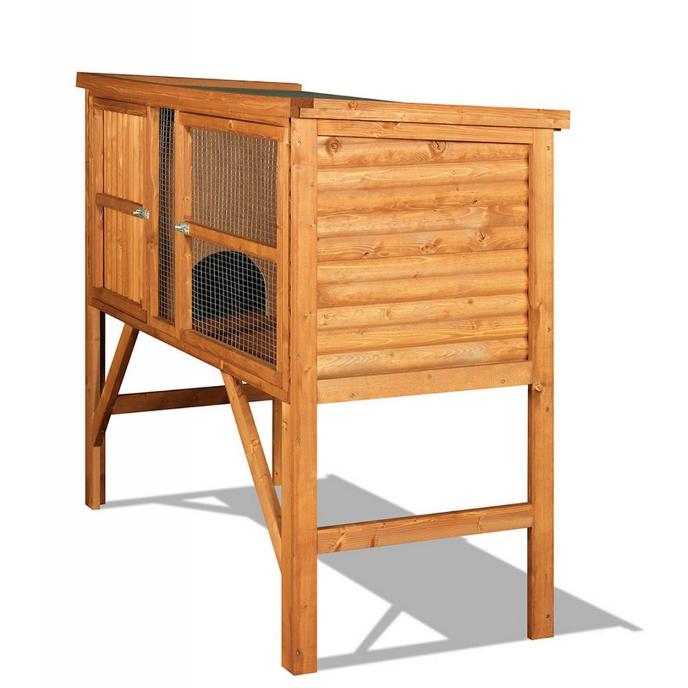 The hutch company fort william 6ft rabbit guinea pig for Free guinea pig hutch