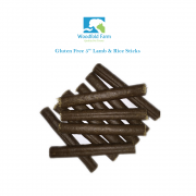 "Woodfold Farm 5"" Lamb & Rice Sticks Dog Treats x"